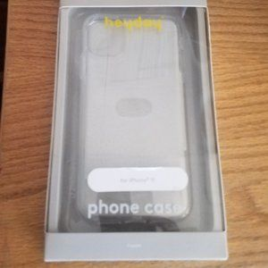 Heydey iPhone 11 clear case